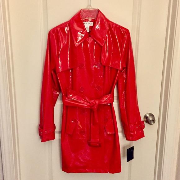 Preston Amp York Jackets Amp Coats Nwt Preston York Red